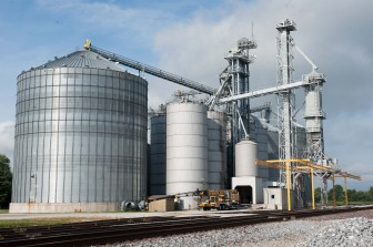 The grain facility in Sidney, Ill., on Tuesday, August 13, 2013.