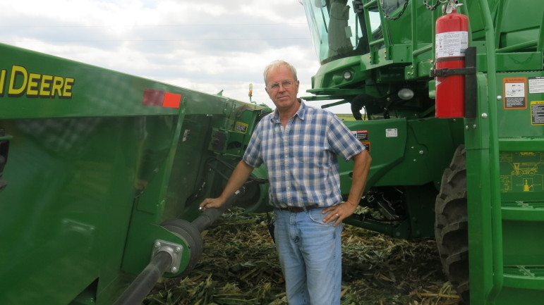 Illinois farmer Len Corzine buys has bought expensive new farm equipment each year for several years in order to ensure his tractor and combine hold up during harvest and planting.