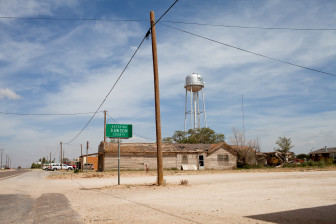 Downtown Ackerly is a town in the heart of West Texas cotton country. If climate change projection hold true, future summers in Illinois could soon feel more like current summers in Texas.