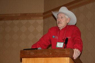 Paul Gunderson, director of Dakota Precision Ag Center