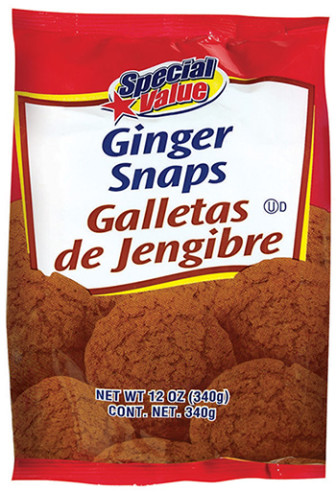 Unified Grocers recalled its ginger snap cookies after discovering they were unmistakeably packaged with cinnamon sugar cookies.