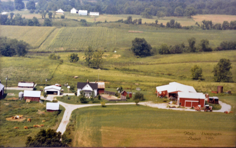 The 89-acre Petrea family dairy farm is located on the outskirts of Iuka, Ill. Growing up on the farm, Chip Petrea had to bale hay, milk cows and move grain. In addition to those chores and schoolwork, Petrea was also the starting center on his basketball team. Petrea's stepfather, Bob, first started the dairy farm with only a couple milk cows.