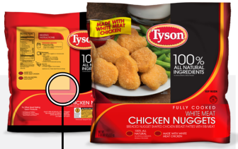 The U.S. Department of Agriculture's Food Safety and Inspection Service classified the Tyson Foods chicken nugget recall as a Class II low-risk recall.