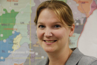 "Kewaunee County water quality specialist Davina Bonness coauthored a study finding that in areas with vulnerable geology, even annual well tests may provide ""a false sense of safety."""