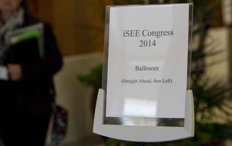 The iSEE Congress 2014 conference on sustainability took place at the Alice Campbell Alumni Center at the University of Illinois at Urbana-Champaign. Conference events were scheduled for Sept. 30 through Oct. 2.
