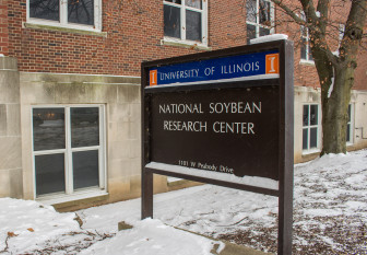 The National Soybean Research Center, where Brian Diers works, at the University of Illinois on Jan. 8, 2015.