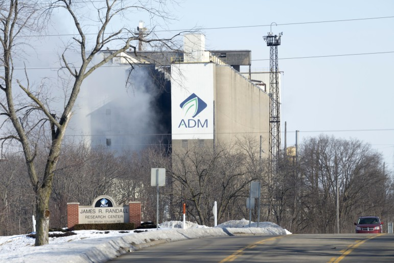 ADM facilities in Decatur, Ill.,  March 6, 2015.