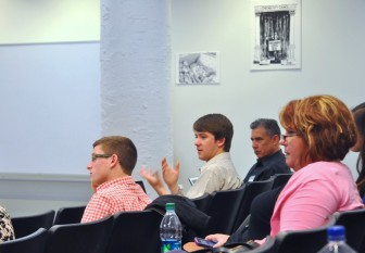 "The Midwest Center for Investigative Reporting's ""Covering the U.S. Visa System in Your Own Backyard"" workshop was held April 10 - 12 at Columbia College in Chicago. Here, fellows ask speaker Mike McGraw questions on visa reporting."