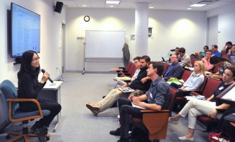 "During the ""Lightning talks"" workshop session on April 11, fellows heard personal experiences on the visa system."