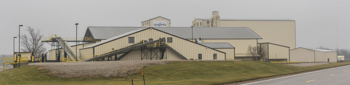 The Syngenta facility in Paris, Ill., Dec. 9, 2014.