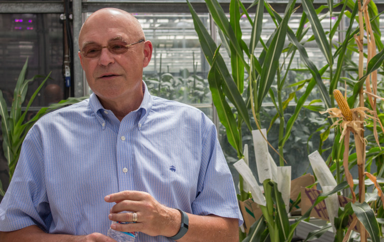 Monsanto Executive Vice President and Chief Technology Officer Robert Fraley on July 20, 2015. Monsanto is one of the hundreds of agribusinesses in support of the Safe and Accurate Food Labeling Act of 2015.