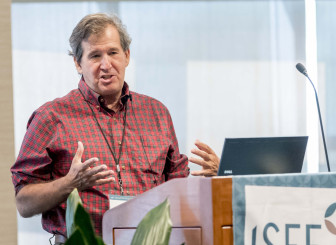 Penn State professor and researcher James Shortle at ISEE Congress 2015 in Urbana, Ill., on Sept. 15, 2015.
