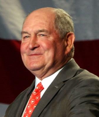 Former Georgia Gov. Sonny Perdue
