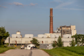 The Dynegy Coal Plant near Oakwood, Illinois