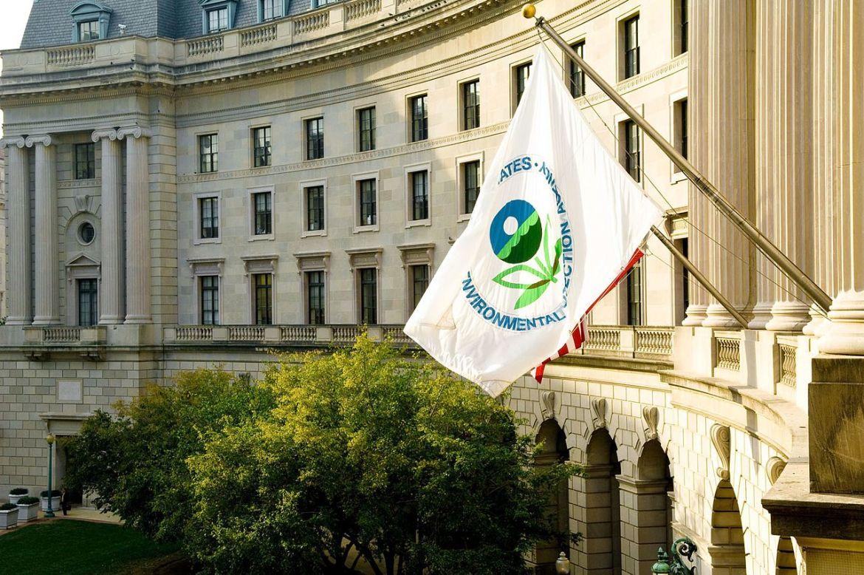 The U.S. EPA building in Washington DC