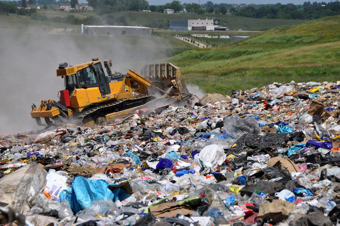 Small Iowa landfills began to close when the U.S. Environmental Protection Agency and the Iowa Department of Natural Resources began requiring stricter regulations and permits for landfills in the 1990's.