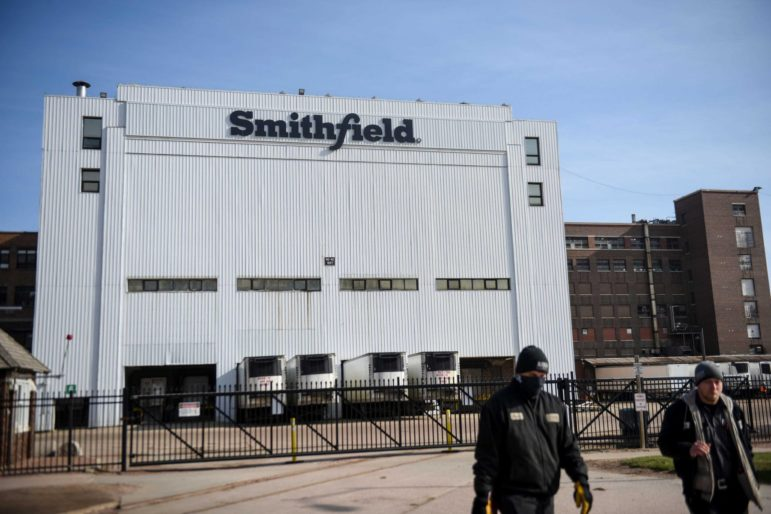 Smithfield plant in Sioux Falls, SD