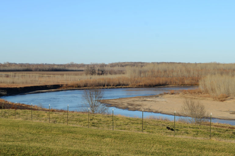 The Thompson River sits next-door to the permitted CAFO site.